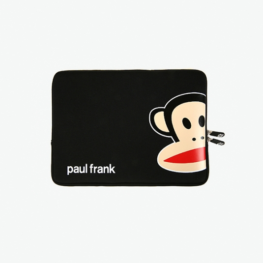 Paul Frank Macbook pro 13 寸电脑内袋- Zoom Julius Blk (大脸)